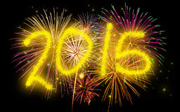 New Year's Eve 2015 Royalty Free Stock Photo