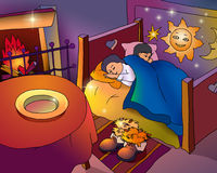 New Year`s Eve Dream Royalty Free Stock Image