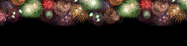 New Year`s Eve fireworks background large copyspace copy space b stock photos
