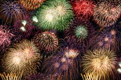 New Year`s Eve fireworks background years year firework royalty free stock photo