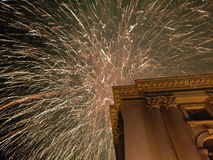 New year& x27;s eve. New year& x27;s eve fireworks night Royalty Free Stock Photography