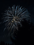 New Year's Eve fireworks in the Swiss mountains - 11 Stock Photos
