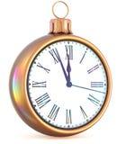 New Year`s Eve last hour clock midnight countdown pressure Stock Photo