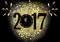 New Year`s Eve 2017 Stock Photography