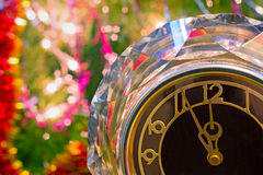 New year's eve. Before the New year five minutes. Royalty Free Stock Photography