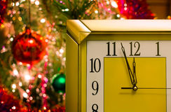 New year's eve. Before the New year five minutes. Stock Photography