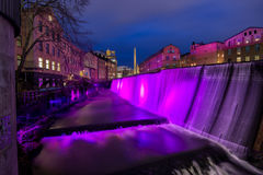 New Years Eve in Norrkoping, Sweden Stock Photo