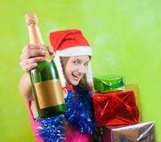 New Year's Eve party Royalty Free Stock Photo