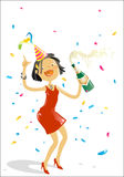 New year's eve party Stock Images