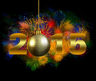 2015 New Year's Eve Party Stock Images