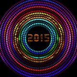 2015 New Year's Eve Party. An abstract illustration on 2015 New Year's Eve Party vector illustration