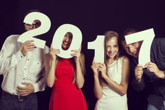 New 2017 Year`s Eve Party Stock Photos