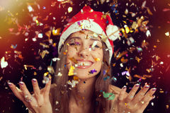 New Year's Eve Portrait Royalty Free Stock Photo