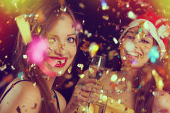 New Year's Eve Portraits Stock Photography