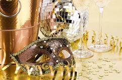 New year's eve still life Royalty Free Stock Photography