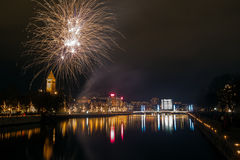 New Year's Eve in Sweden Stock Image