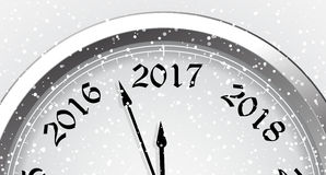 New Year`s Eve 2017. Vector illustration Stock Images