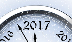 New Year`s Eve 2017. Vector illustration Stock Photography