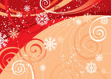 New Year's Fun Background stock illustration