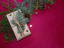 New year`s gift Royalty Free Stock Images
