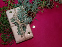 New year`s gift Stock Images