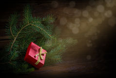 New Year's gift Royalty Free Stock Photography