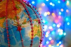 , New Year`s Globe Stock Image
