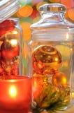 New Year's Holiday decor. Christmas balls Stock Photography