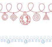 A New Year's illustration - 2012. Seamless pattern. A New Year's illustration - 2012 royalty free illustration