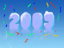 New year's illustration Royalty Free Stock Images