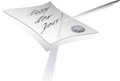 New year's letter Royalty Free Stock Photos