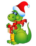 New year's merry dragon Stock Photos