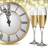 New Year's at midnight Stock Photos