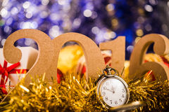 New Year's at midnight Stock Photography