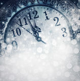 New Year's at midnight royalty free stock photography