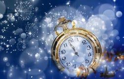New Year's at midnight Royalty Free Stock Photos