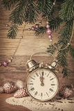 New Year's old decoration Stock Image