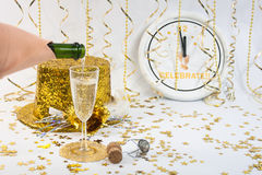New Year's for One Royalty Free Stock Photo