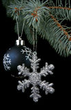 New Year's ornaments Royalty Free Stock Photos