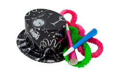 New Year's party hat Royalty Free Stock Photo