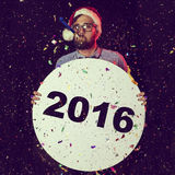 New Year's Party stock photography
