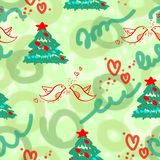 New year's pattern Stock Images
