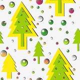 New year's pattern Royalty Free Stock Images