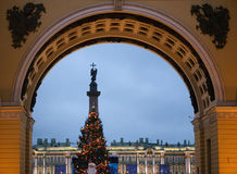 New Year's Petersburg Royalty Free Stock Photos