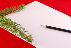 New Year's planning Stock Photos