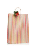 New Year's present in paper bag Stock Photography