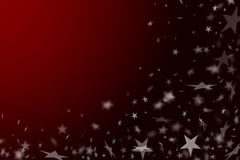 New Year's red background. Royalty Free Stock Images