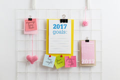 New Year`s Resolutions Royalty Free Stock Image