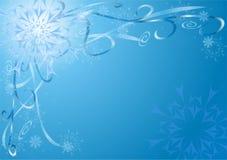 New year's snowflakes Stock Photos