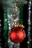 New Year's sphere Royalty Free Stock Images